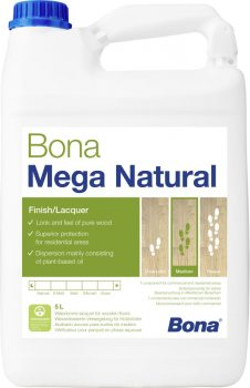 Bona - Mega Natural 1-K - 5,0l (ultramatt)